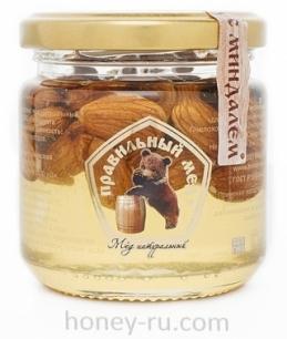 Мед с миндалем