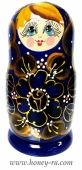 Подарочная Упаковка №7 Матрёшка с баночкой меда 350 гр.