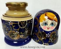 Подарок Матрешка с медом открыта - Компания Правильный мед